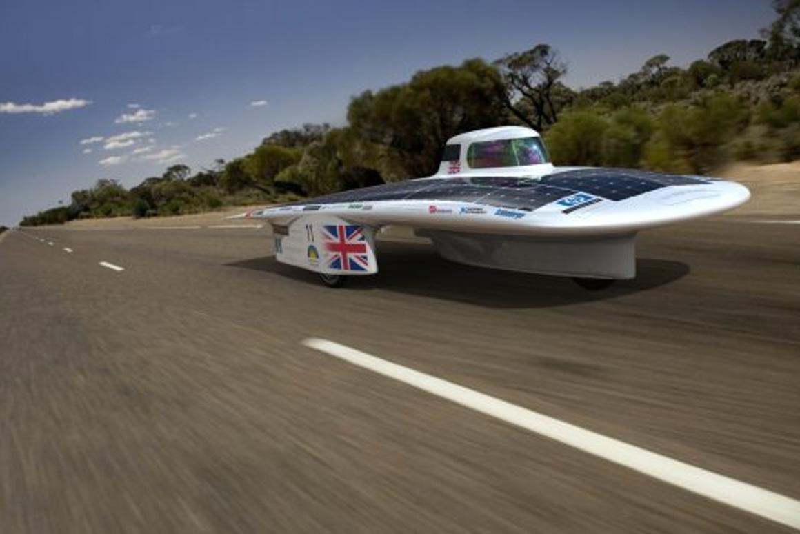 Gearing up for the 2011 World Solar Challenge (Image: Cambridge University Eco Racing)