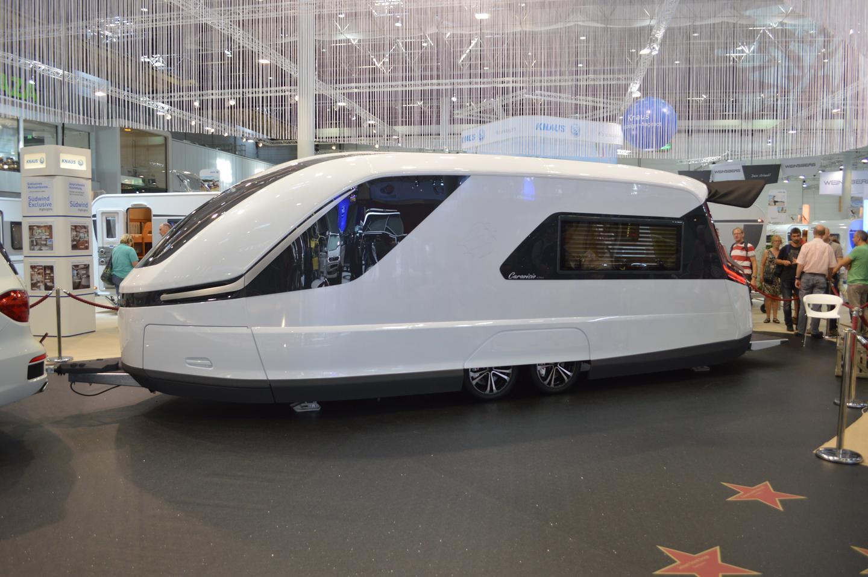 The Caravisio concept at the 2013 Dusseldorf Caravan Salon