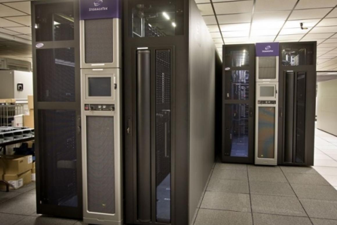 NCAR's AMSTAR digital storage library.