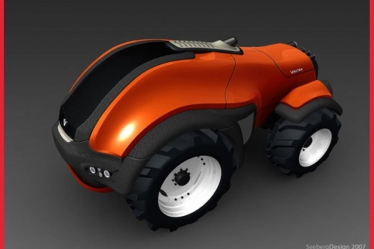 Valtra RoboTrac autonomous tractor design