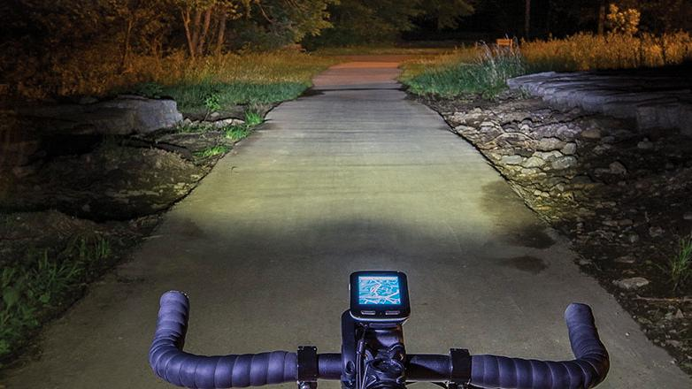 Garmin's new Varia smart headlight uses GPS to gauge the rider's speed