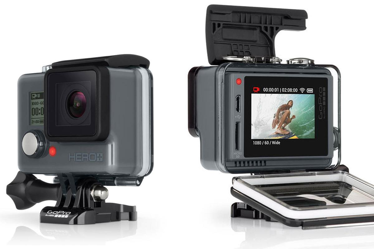 The GoPro Hero+ LCD is a budget-friendly touchscreen-toting action camera