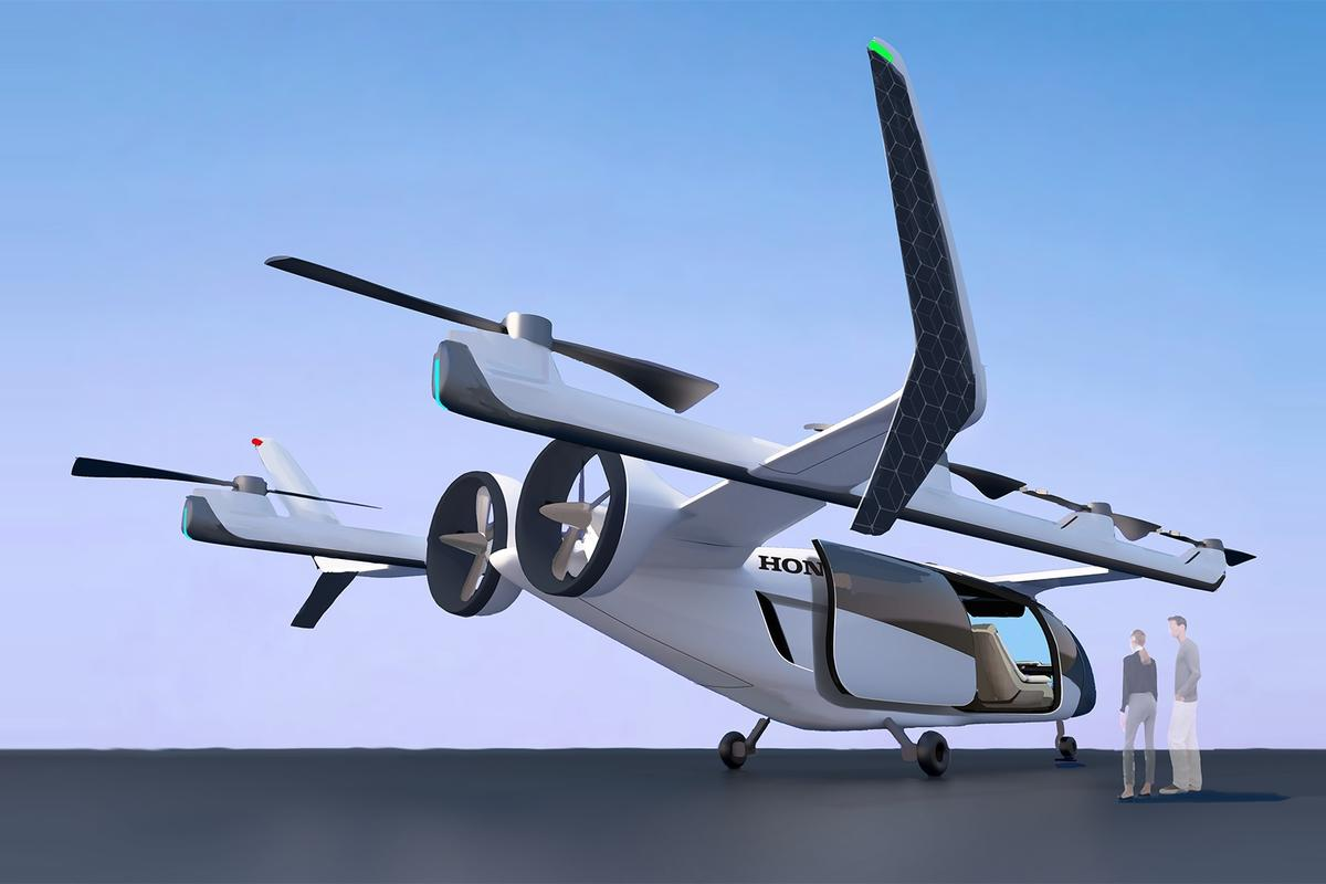 Among a number of new initiatives, Honda is developing an eVTOL
