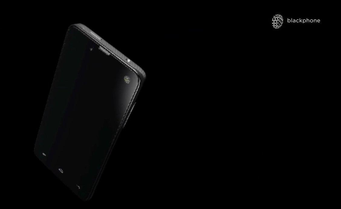 Model of what the Blackphone might look like from Blackphone's pitch video