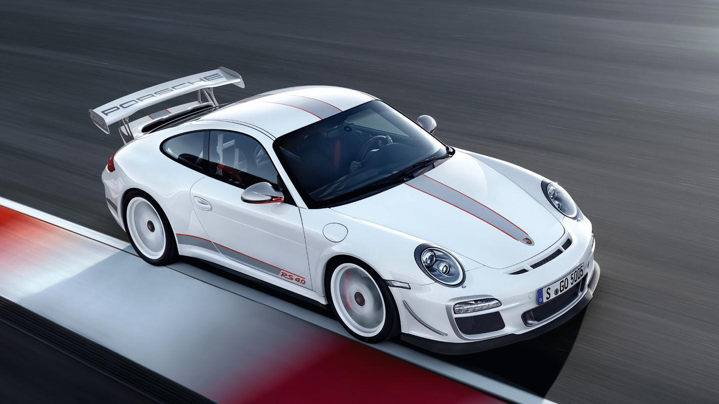 Porsche 911 Gt3 Rs 4 0 A Limited Edition 500 Bhp Rsr Racecar For The Road