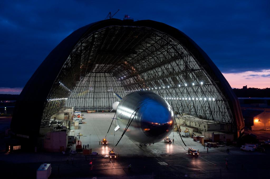 Lockheed Martin's HALE-D before launch
