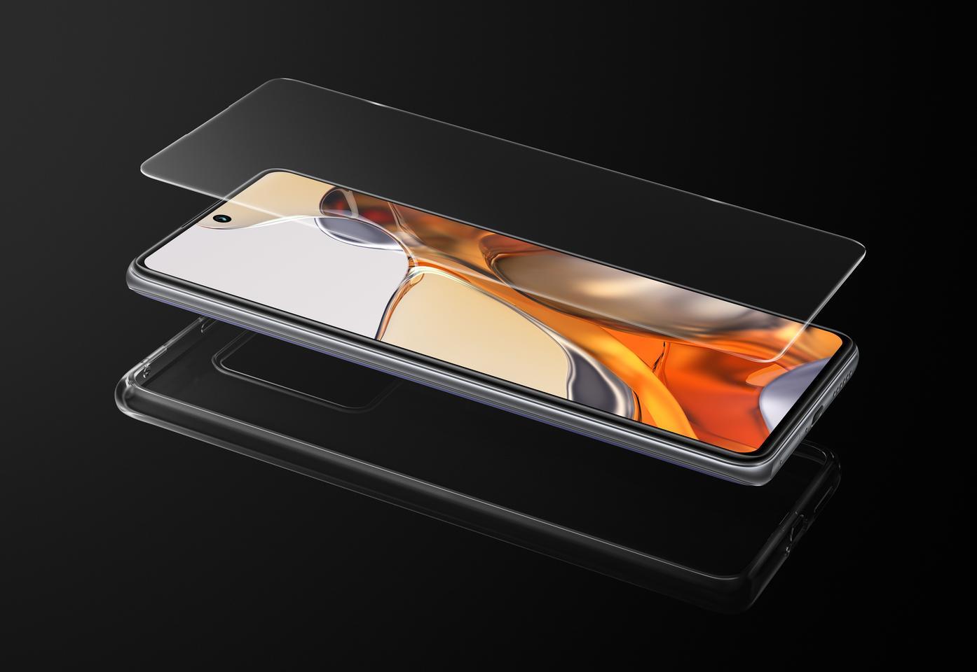 6,67-дюймовый дисплей FHD + AMOLED 11T Pro защищен стеклом Corning Gorilla Glass Victus.