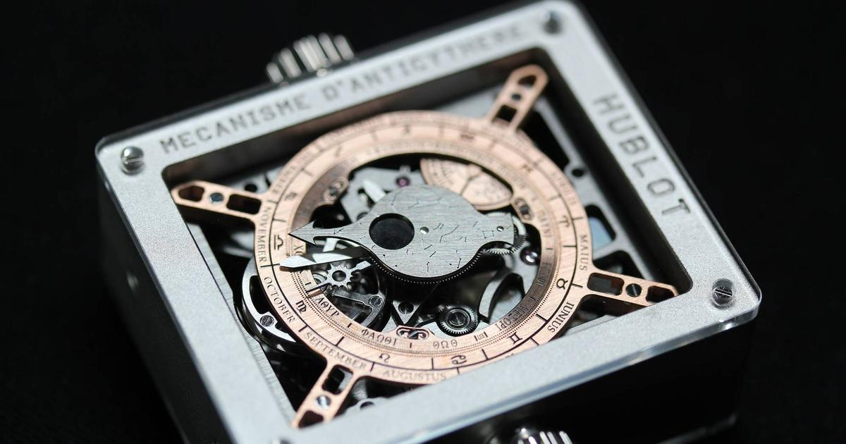 Hublot painstakingly recreates a mysterious, 2,100-year-old