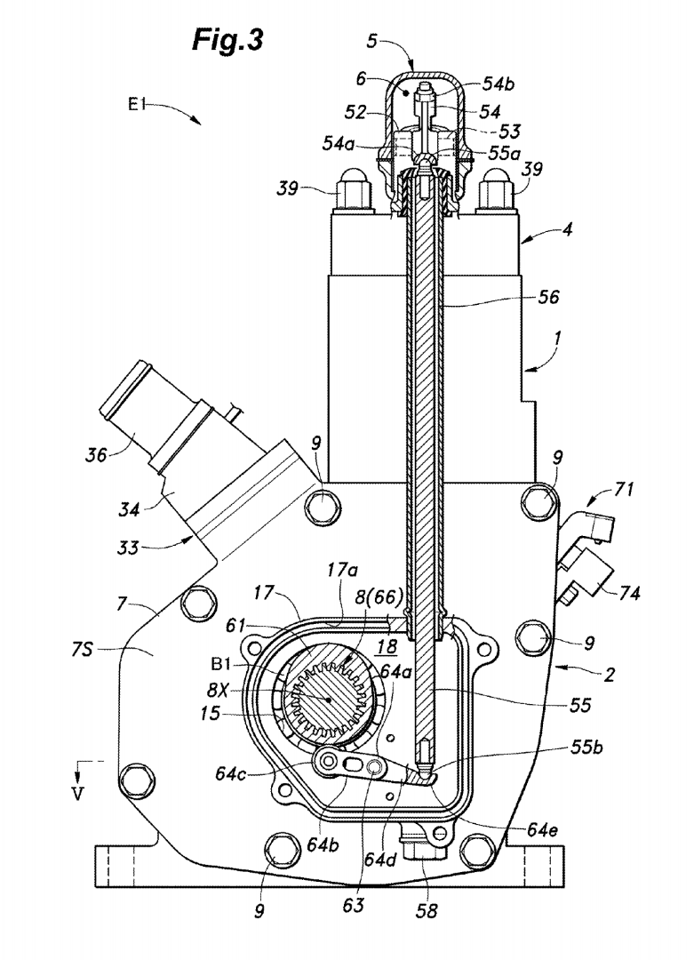 Honda Motorcycle Engine Schematic