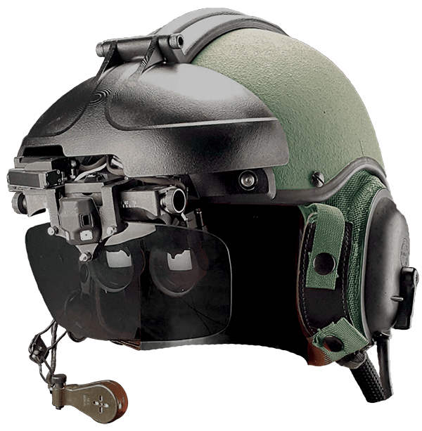 The IronVision headset and visor