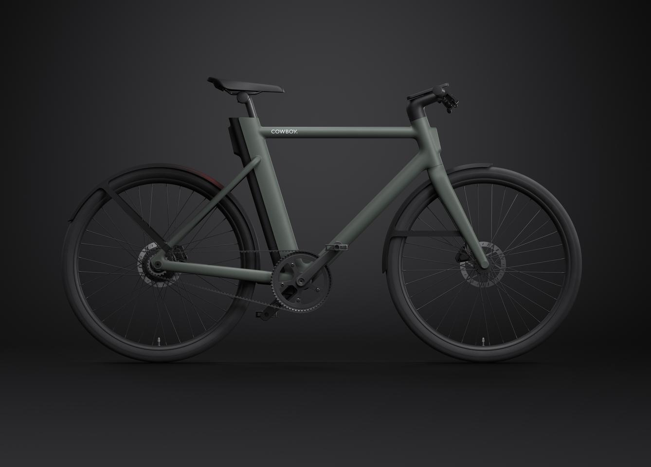 The majority of the components that make up the Cowboy 4 have been custom-made for this ebike