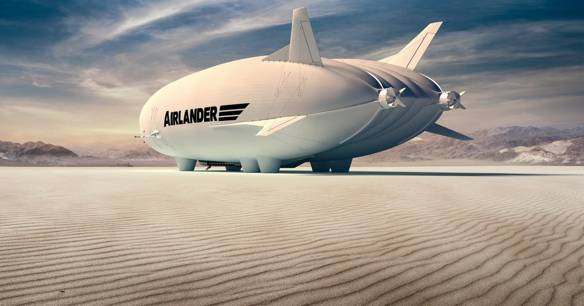 Airlander 10's new propulsion system will be hybrid-electric
