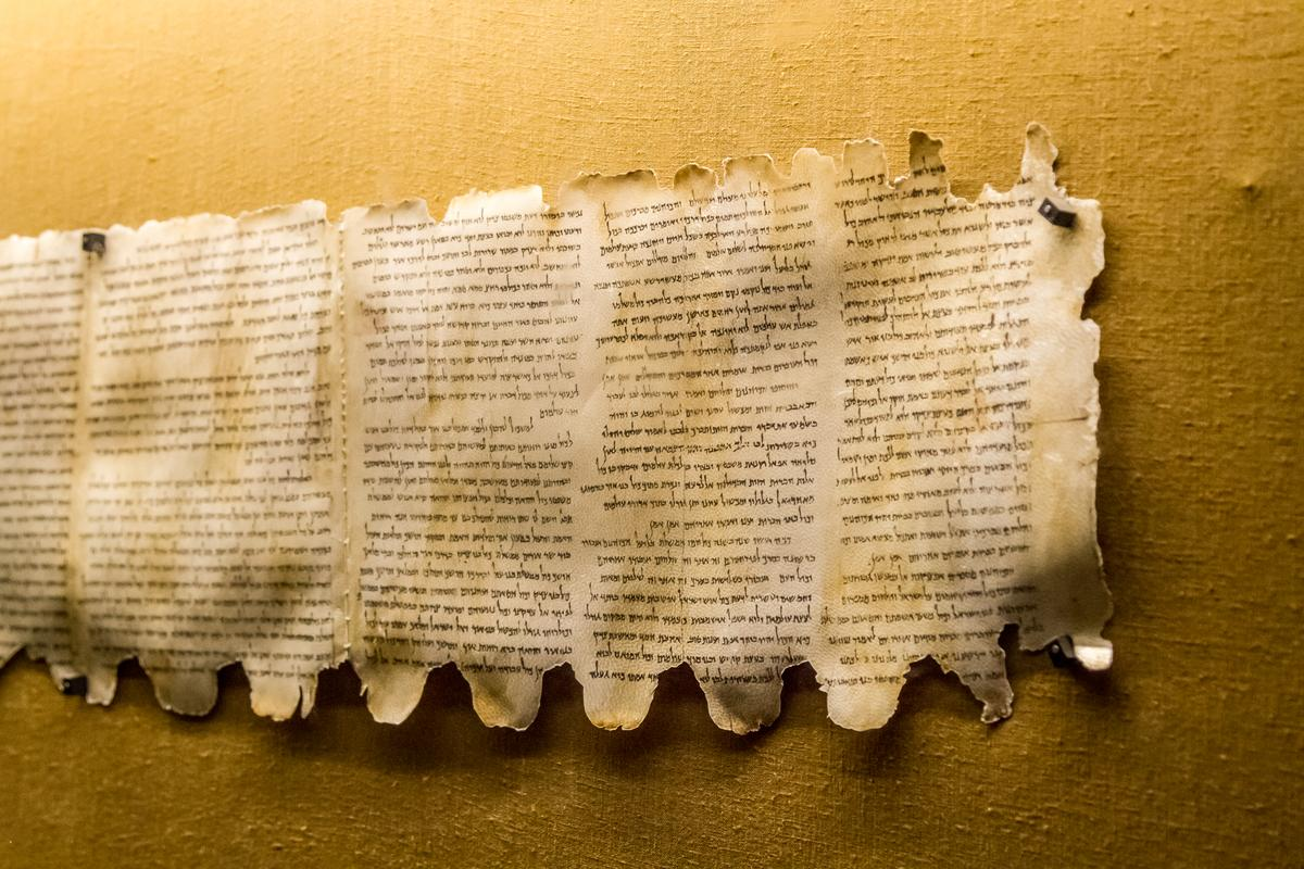 New researcher reveals strong evidence one of the most well-known Dead Sea Scrolls was written by two separate scribes