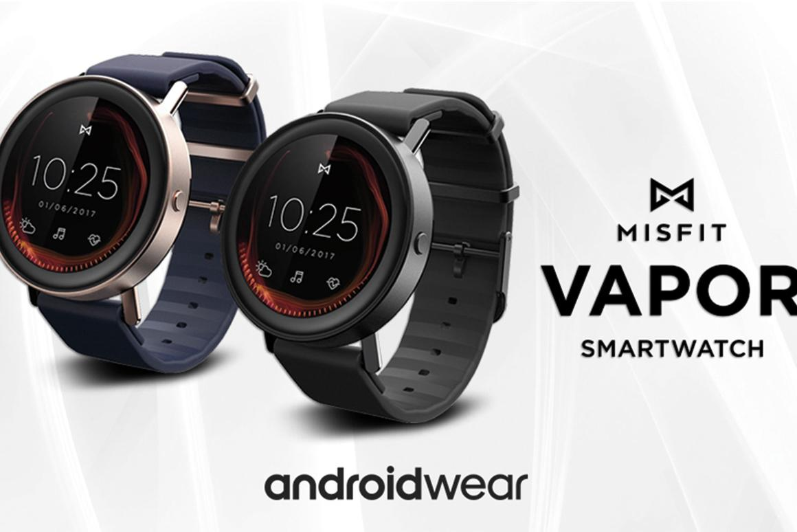 Android Wear misfit's vapor fitness smartwatch will run android wear 2.0