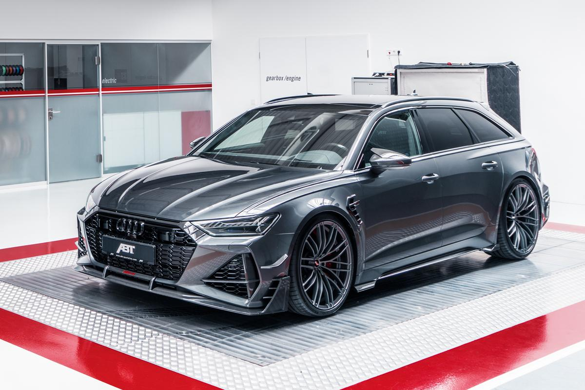 ABT RS6-R: an eccentric combination of supercar performance blended with common sense practicality