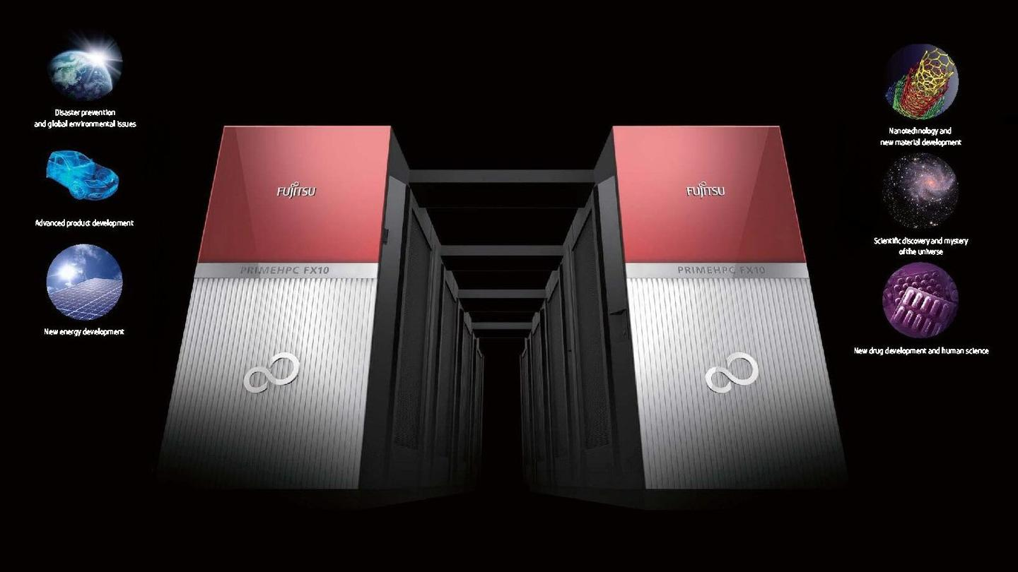 Fujitsu has announced worldwide availability for its new PRIMEHPC FX10 supercomputer, which can be scaled up to a 1,024 rack configuration for 23.2 petaflops of theoretical processing power