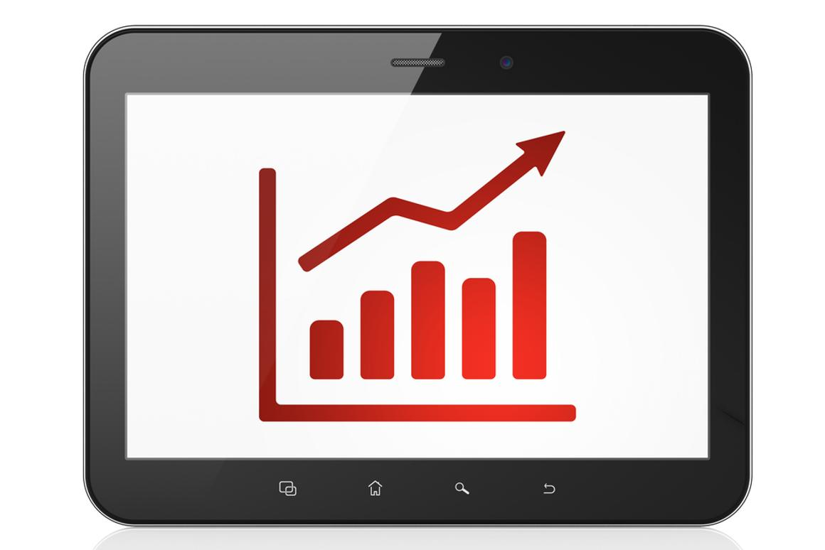 Tablet shipments are expected to grow 53.4 percent in 2013 according to Gartner (Photo: Shutterstock)