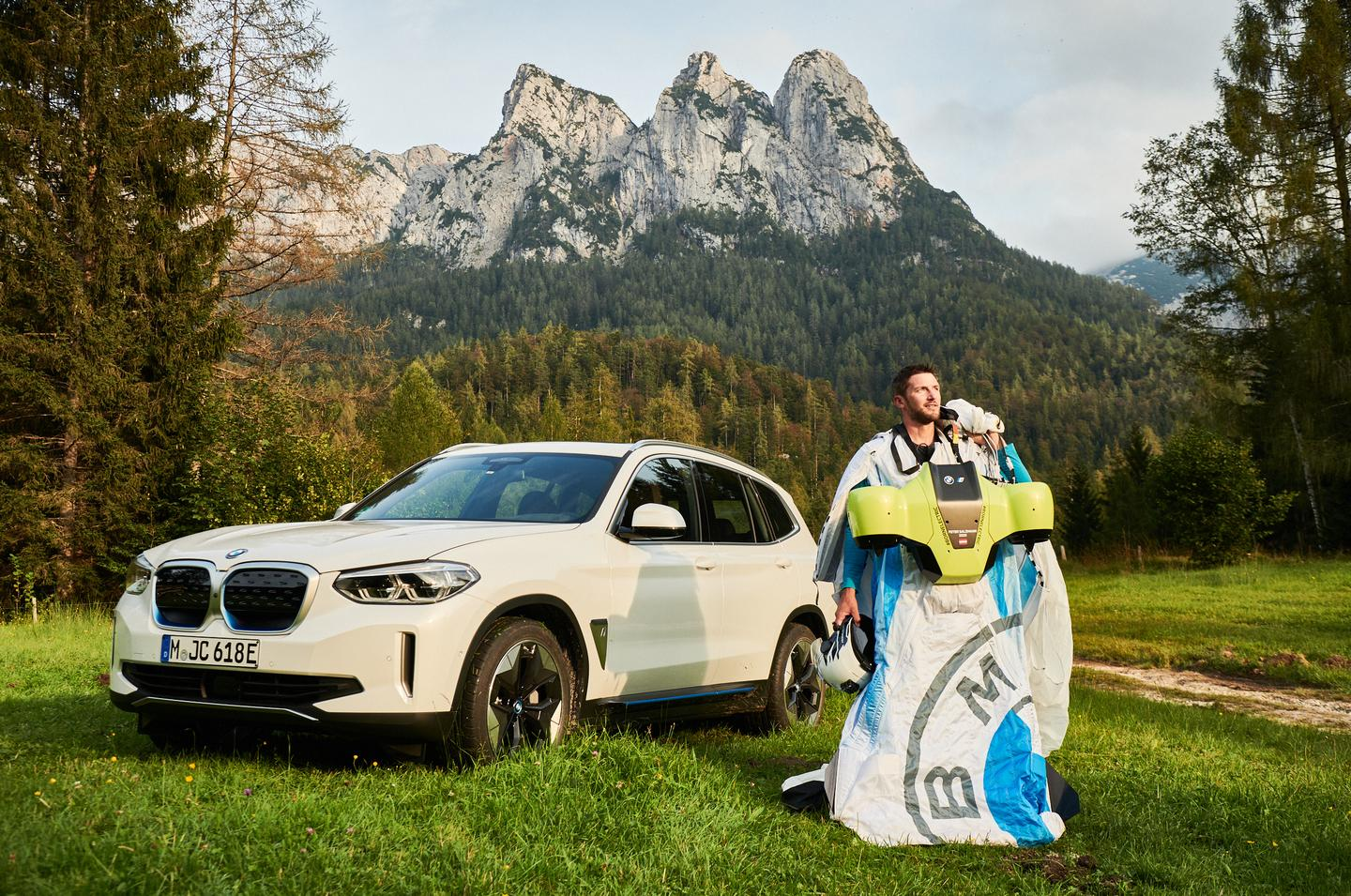 The project was done in partnership with BMW's Designworks studio, as a promotion for BMW's electric iX3
