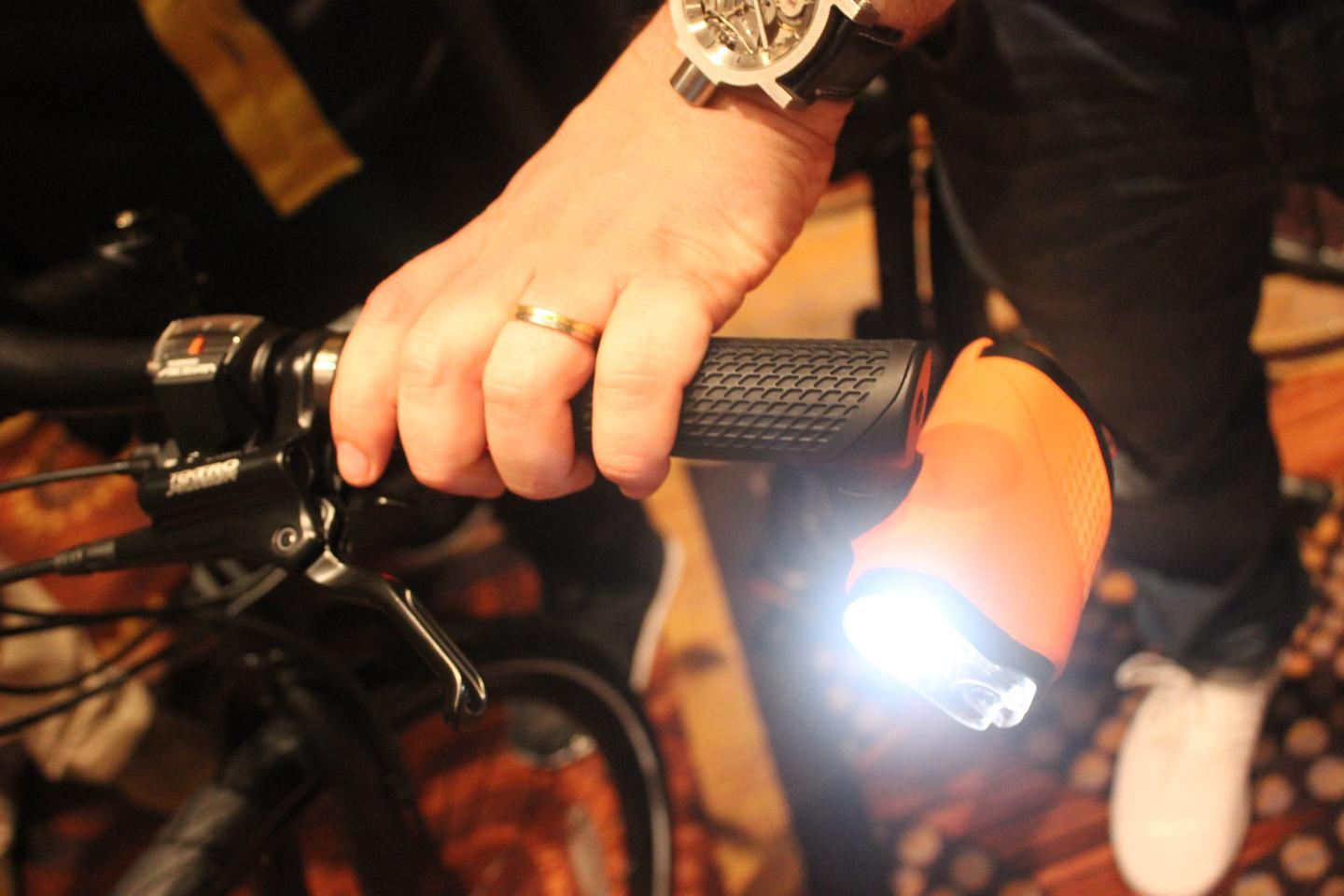 The Brightspark system recently debuted at Interbike 2016