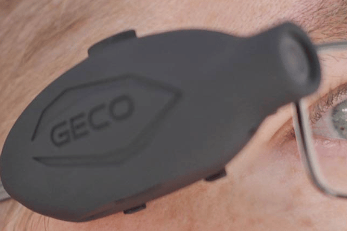 The Geco Mark II weighs just 20 grams