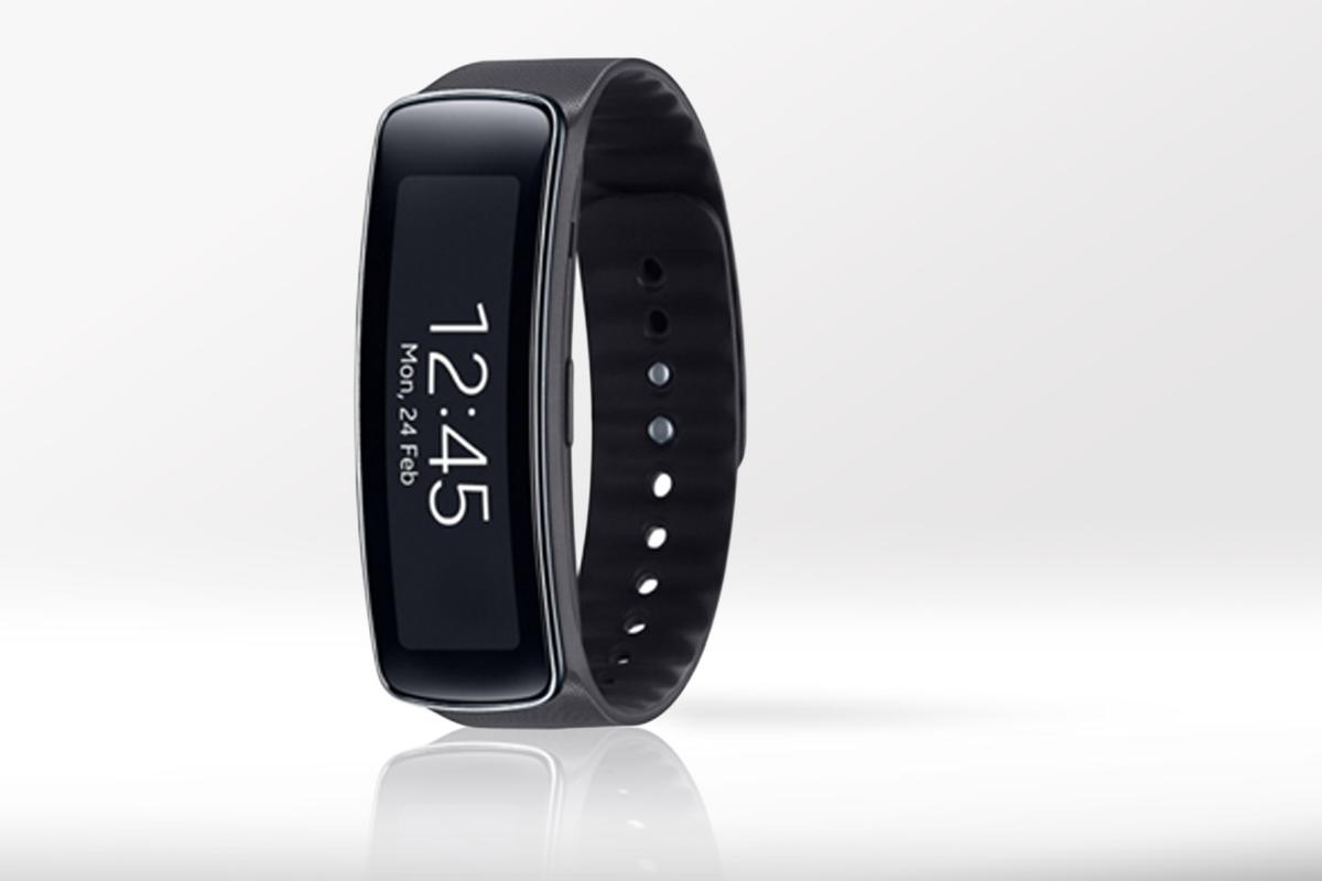 Samsung added to its growing list of wearables, with its first dedicated fitness tracker, the Gear Fit