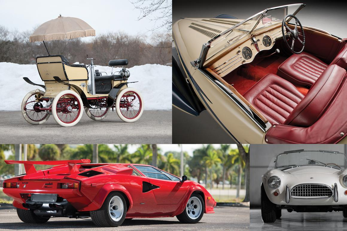 Last month's auction at Amelia Island, Florida, certainly turned up its fair share of eye-catching automobiles