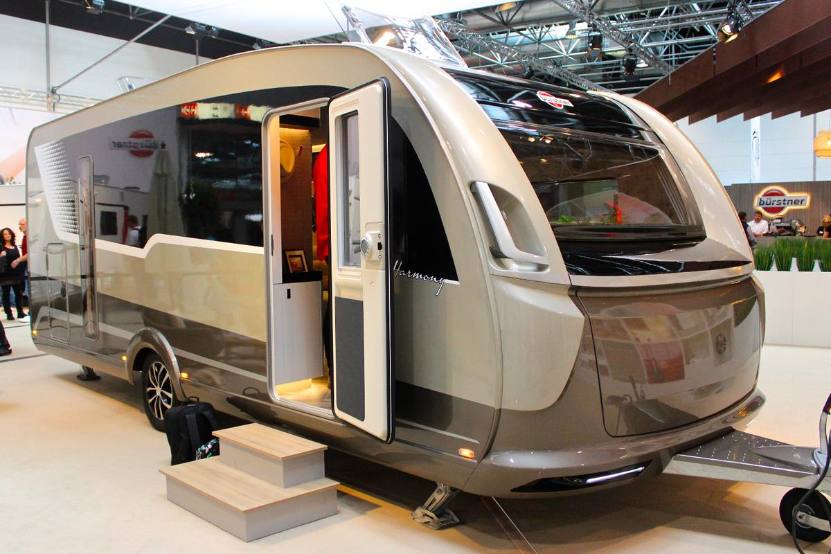 Bürstner debuts the Harmony 3 at the 2018 Düsseldorf Caravan Salon