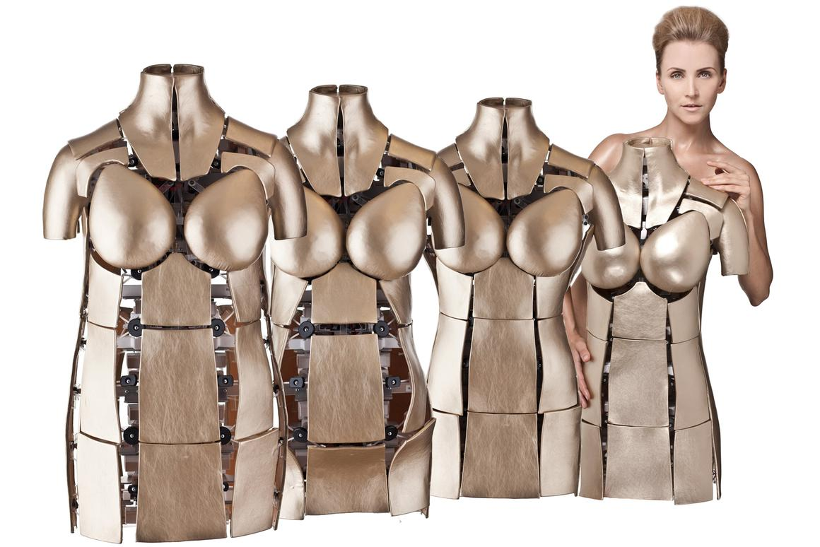 Using proprietary FitBot technology, robots can conform to over 85% of the female individuals that shop online today,