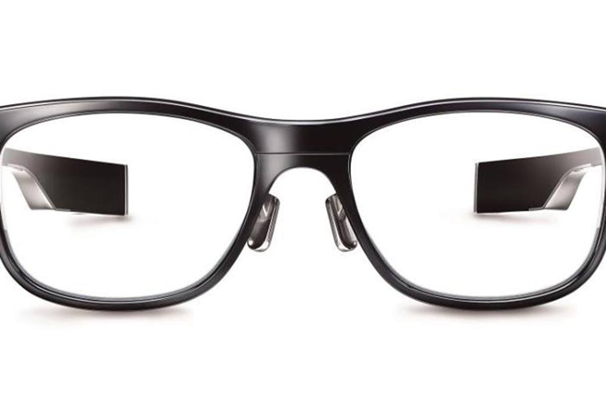 The Jins Meme eyewear is fitted with sensors to alert the user to when fatigue starts to creep in