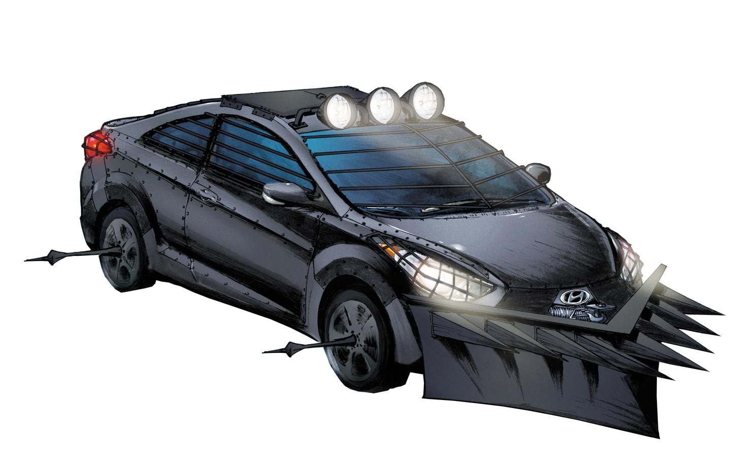 Survive the apocalypse with Hyundai