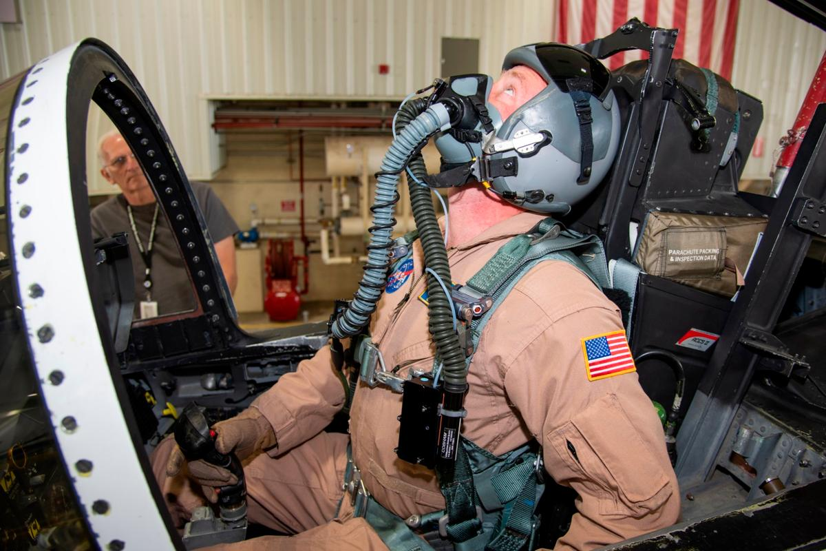 The NASA study is part of an effort to prevent hypoxia events in military jets
