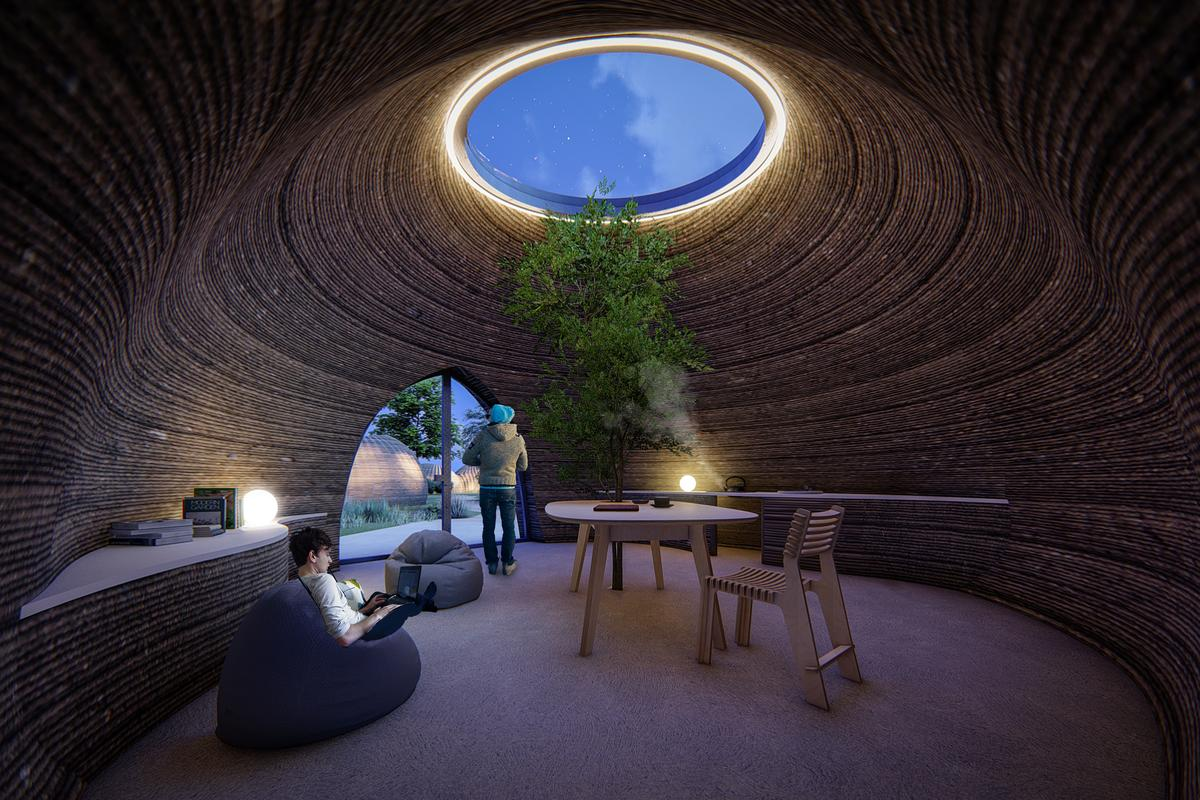Italian 3D printing company WASP has joined forces with Mario Cucinella Architects to construct an innovative 3D printed dwelling