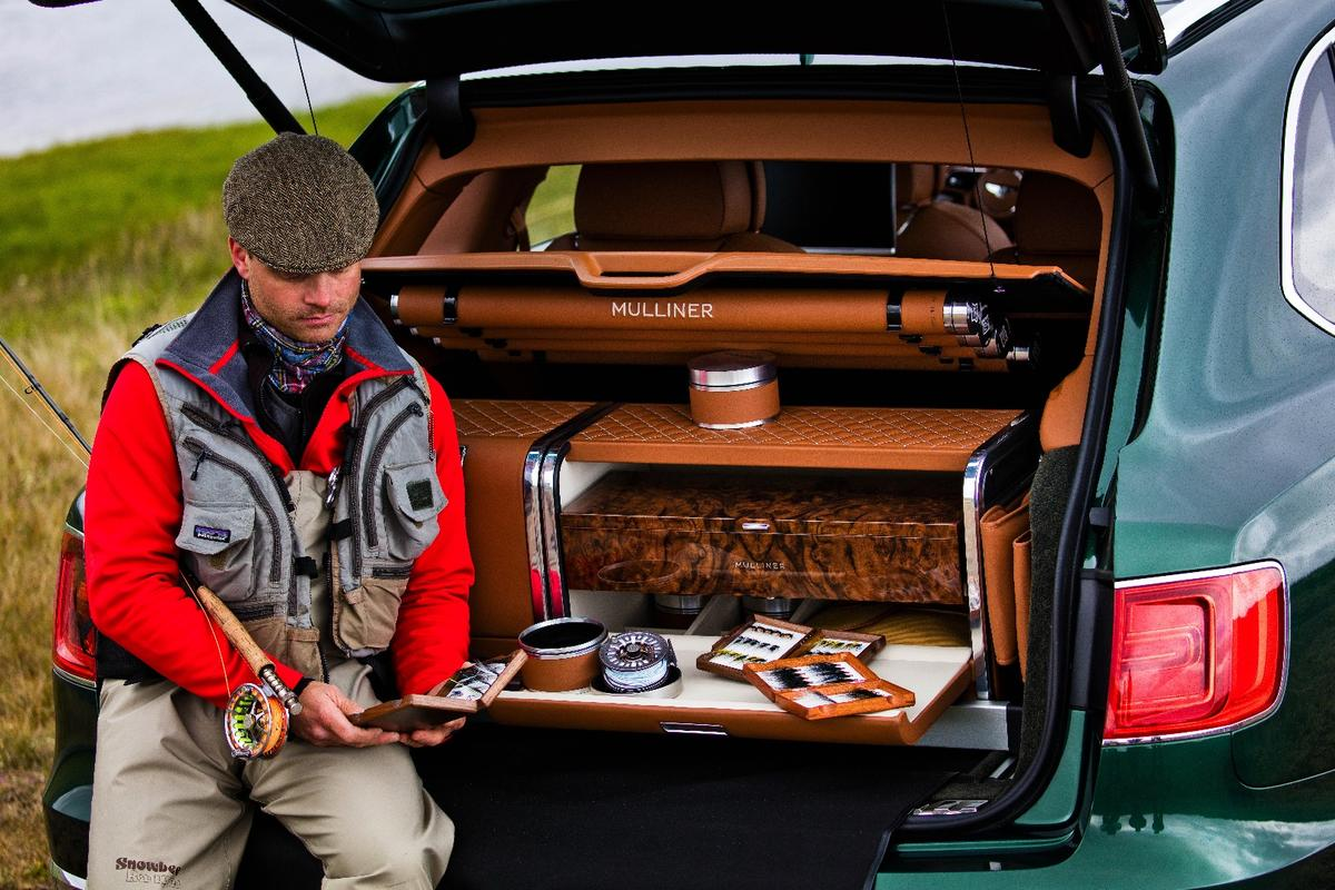 The Mulliner system organizes key fly fishing gear