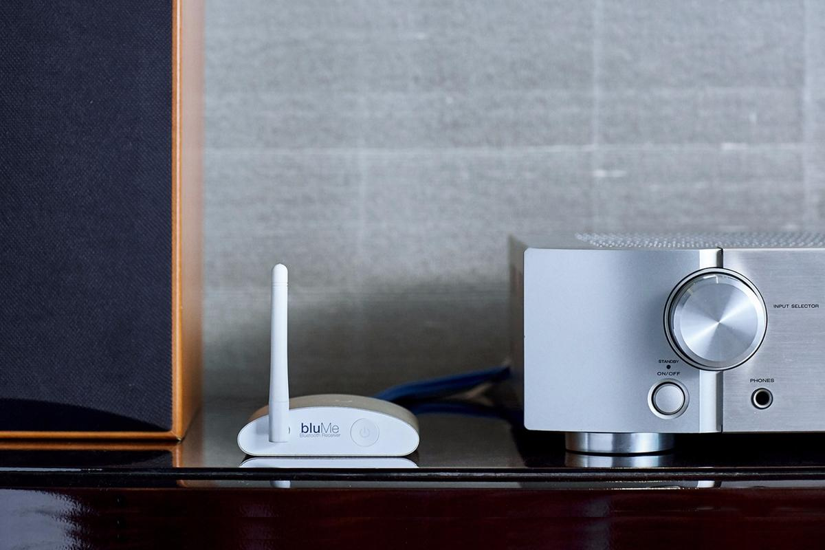 The Auris bluMe upgrades classic audio with Bluetooth wireless