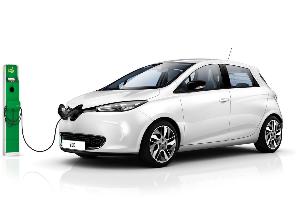 Renault employees were given specially-designed charging stations to test the new system under real-life conditions