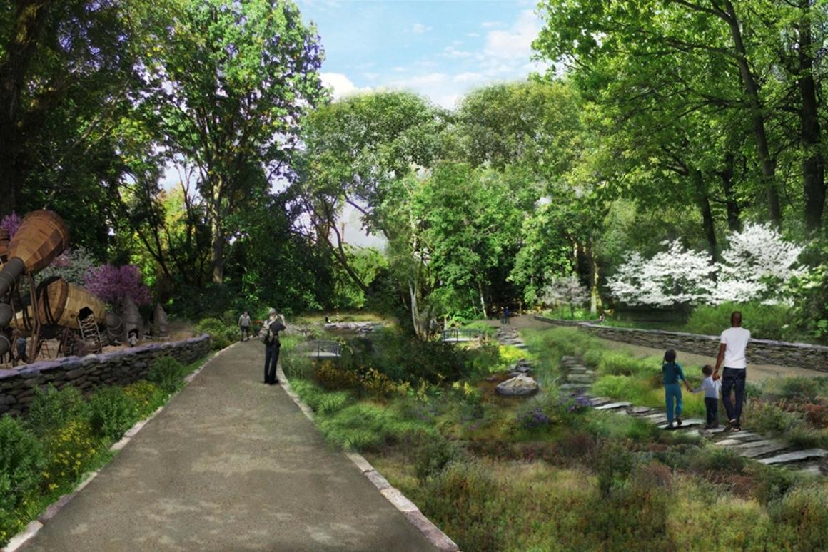 The QueensWay Project would see the US$120 million renovation of a portion of the abandoned Rockaway Rail Line for use as a public park