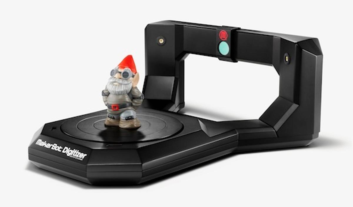 MakerBot's Digitizer 3D scanner – gnome not included (Photo: Spencer Higgins)