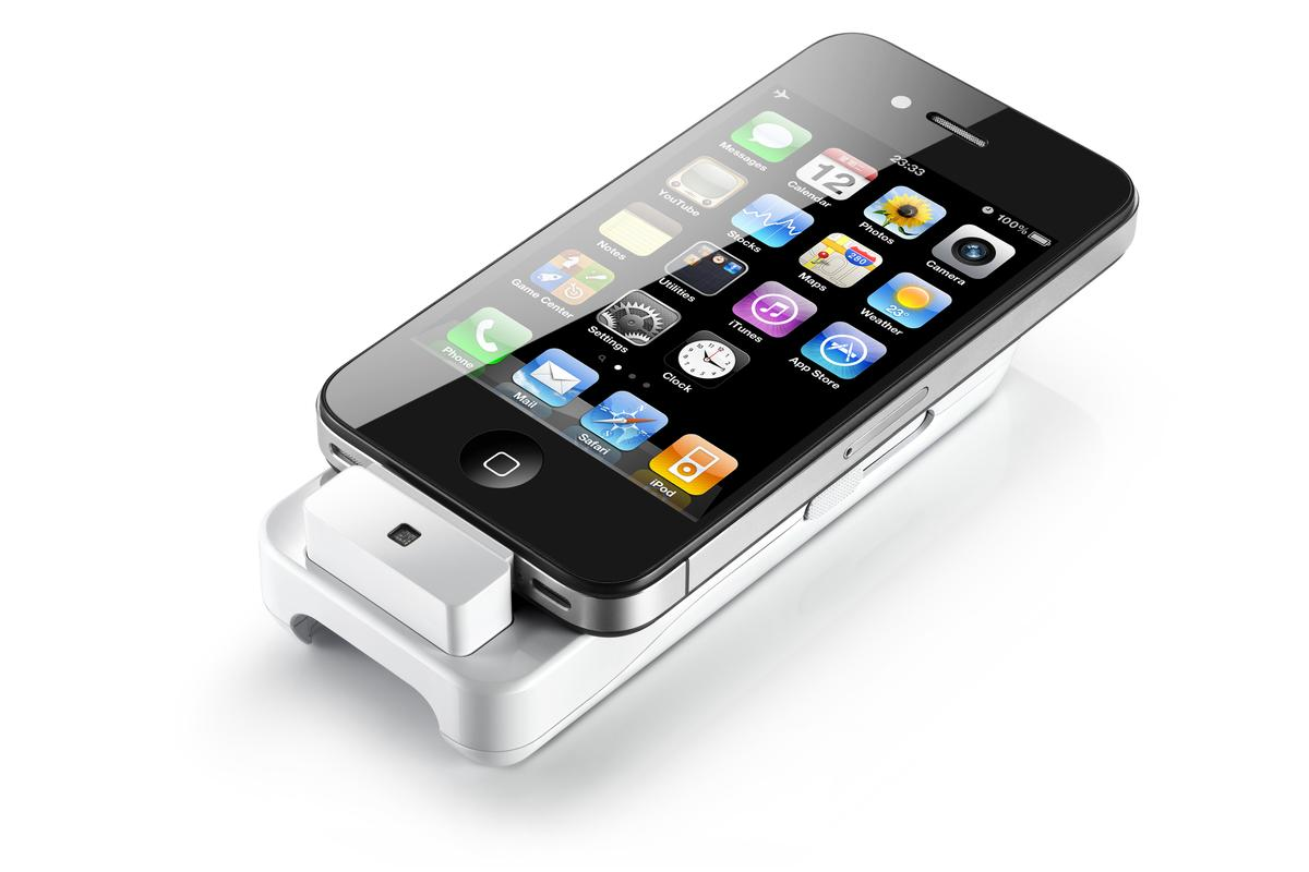 General Imaging has announced a hand-held projector specially developed for the iPhone and iPos touch called ipico