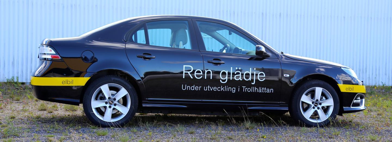 Saab engineers claim the car's 50/50 weight distribution help keep handling sharp
