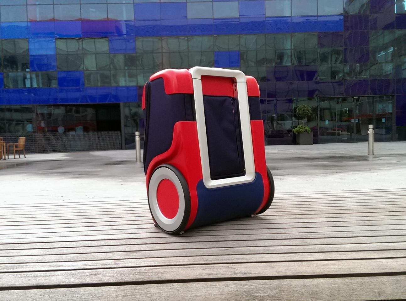 """The G-RO is described as a """"companion bag,"""" as it is designed not only for lugging about, but for using and spending time with while you travel"""
