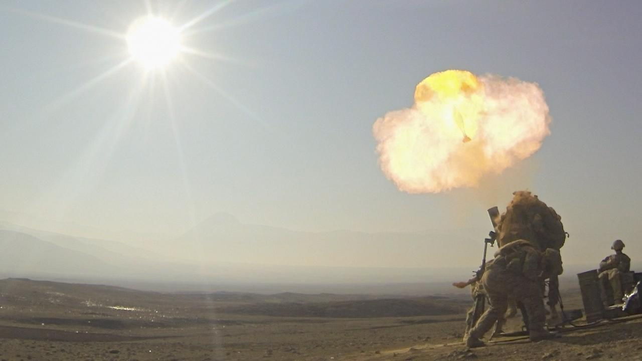 A team at Benét Labs is redesigning the 120-mm mortar system currently in use by the US Army (Photo: 1st Lt. Cory Titus)