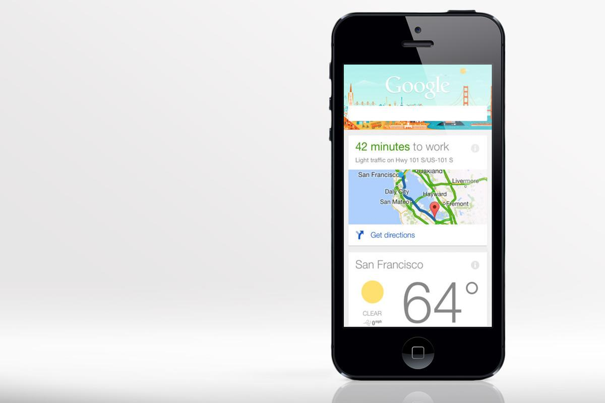 Today Google pushed a big update to its search app for iOS, making Google Now a much more viable option on the iPhone