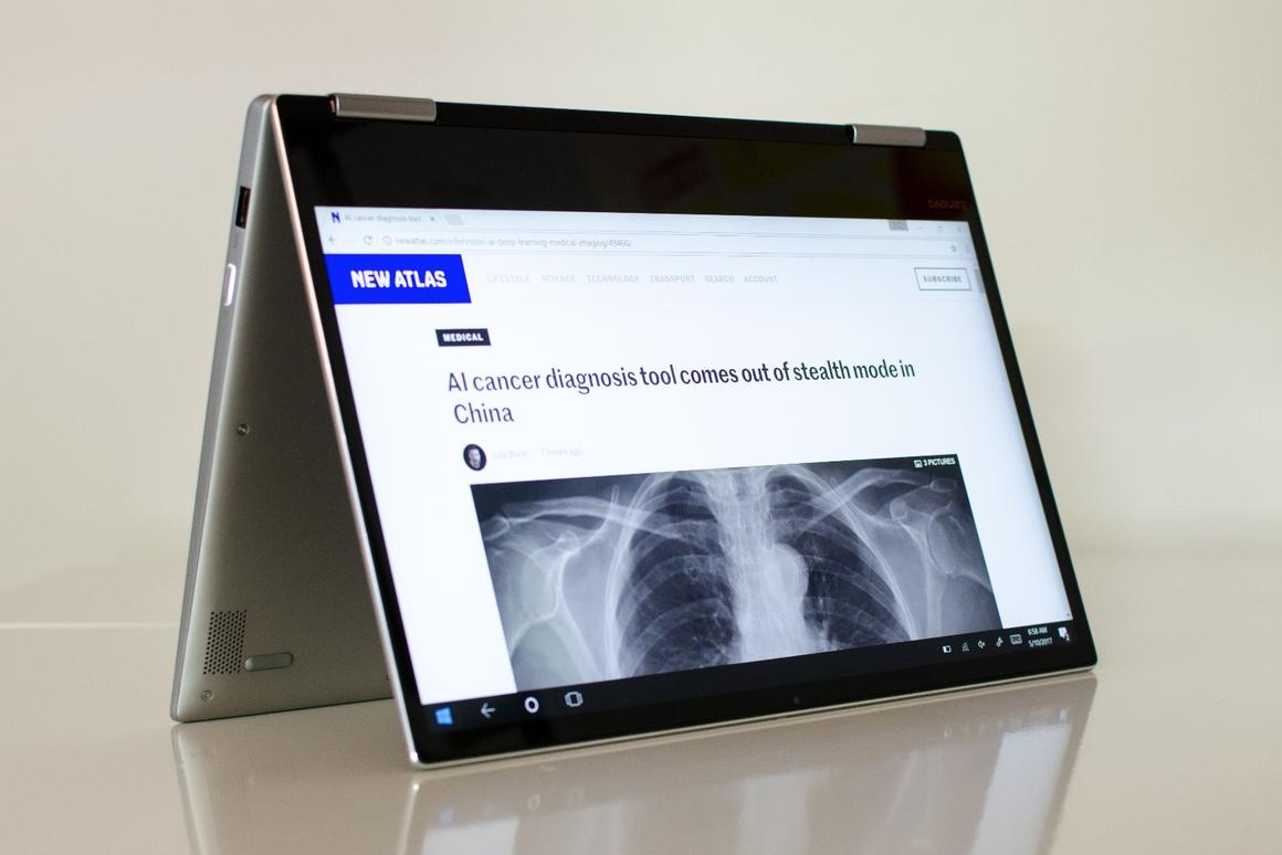 The Lenovo Yoga 720 2-in-1 tablet/laptop is a solid mid-ranger with just a few drawbacks