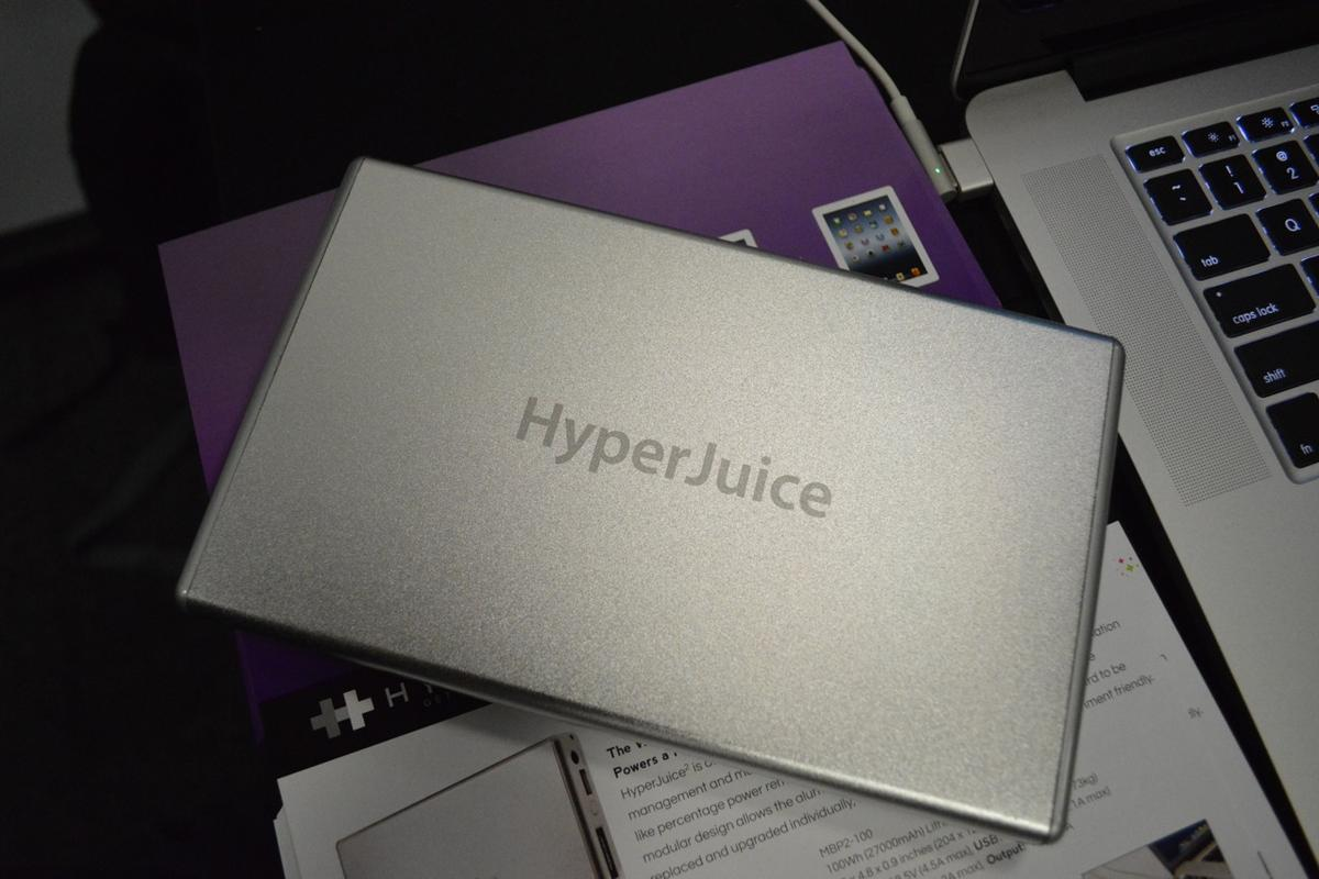 The HyperJuice2 was just launched at IFA