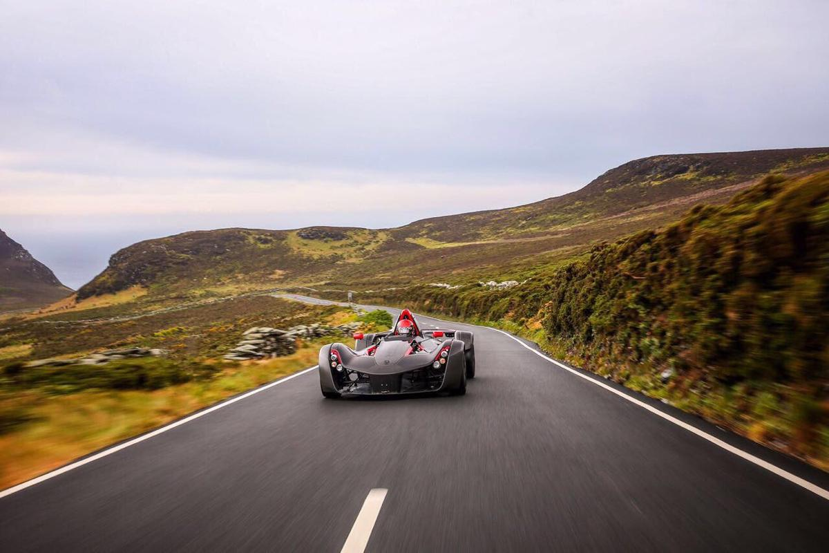 The BAC Mono takes on the Isle of Man