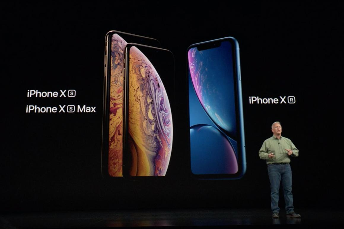 Apple's Phil Schiller introduces the iPhone XS, the iPhone XS Max, and the iPhone XR