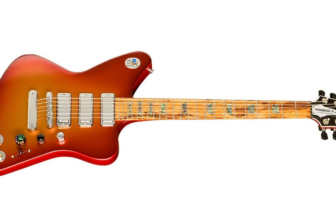 Gibson has announced its latest foray into the world of digitally-enhanced guitars with the Firebird X, a limited run model with built-in effects, wireless pedal control and bundled computer software