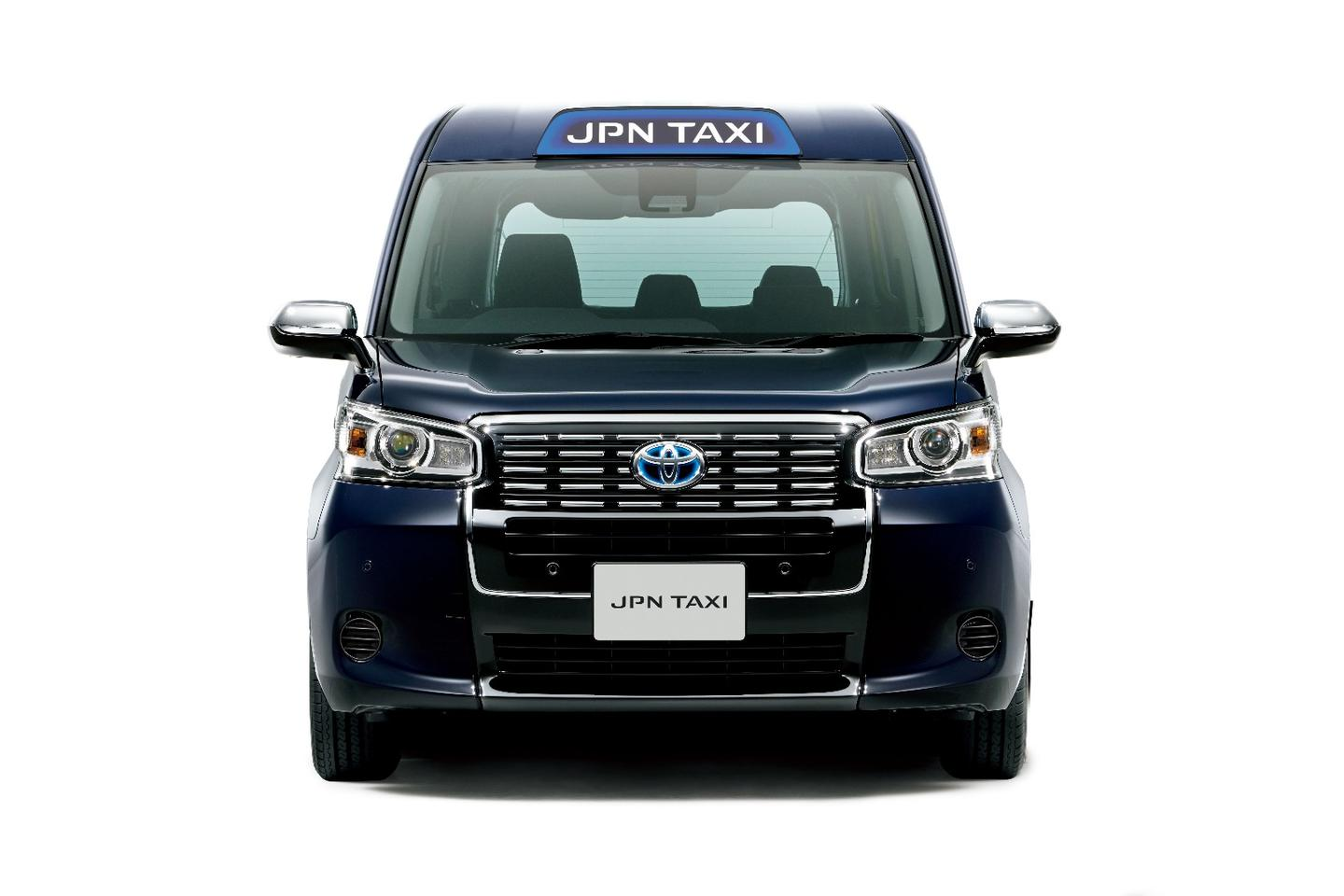 The Toyota JPNTaxi has been revamped for the new model offering