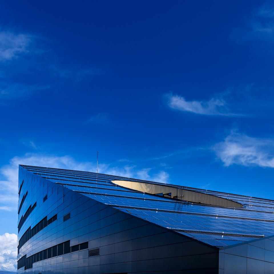Powerhouse Brattørkaia is located in Trondheim, Norway, and is described as the world's northernmost energy-positive building by designer Snøhetta