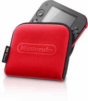 Nintendo is also offering matching carrying cases for $12.99 each to keep the front of the device protected